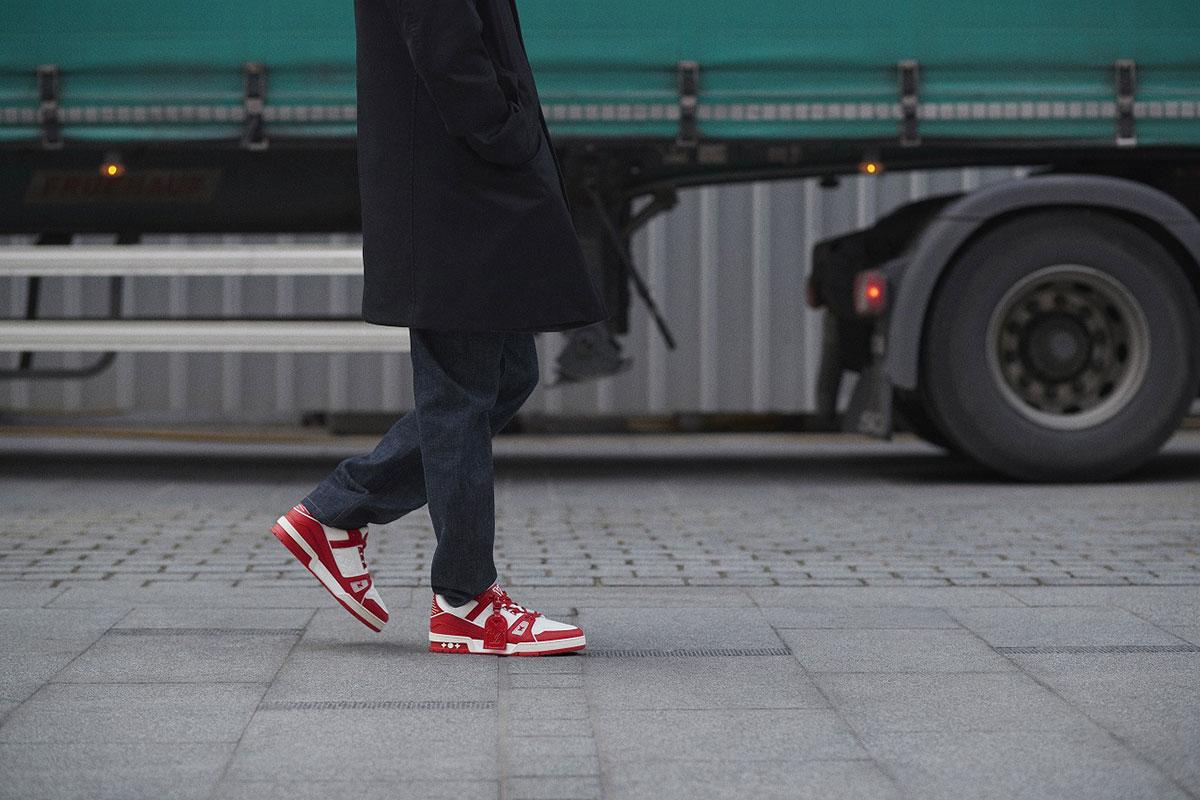 Louis Vuitton I (RED) トレイナー